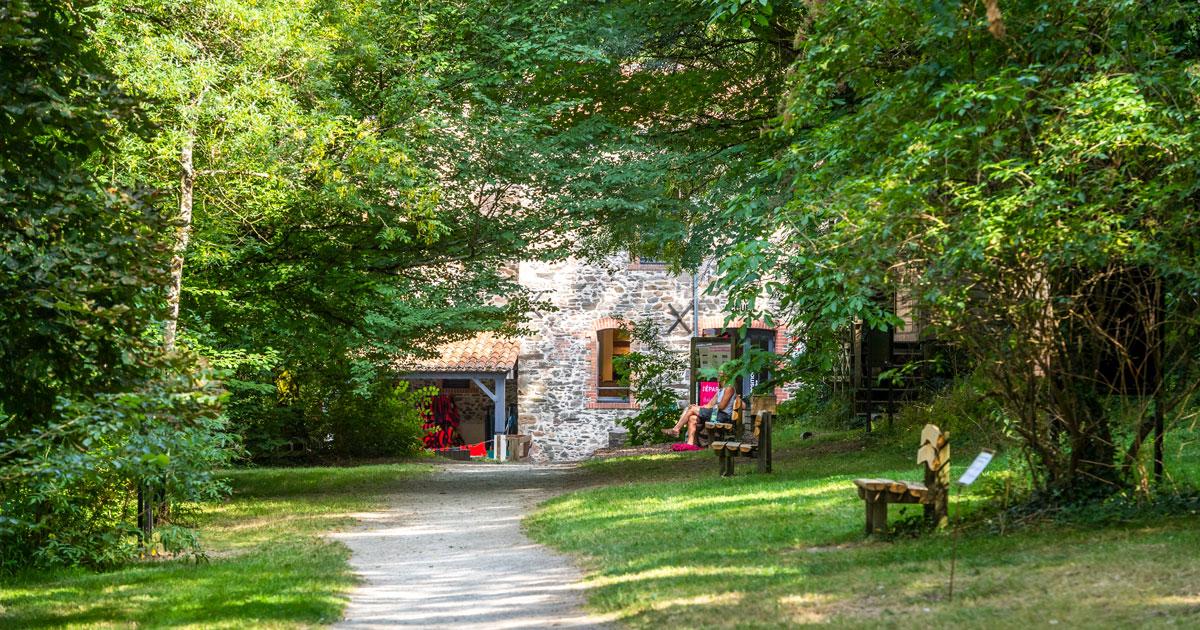 Image : Accès - Maison de la Rivière - Terres de Montaigu