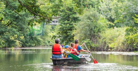 Image : Balade en barque - Maison dela Rivière - Terres de Montaigu