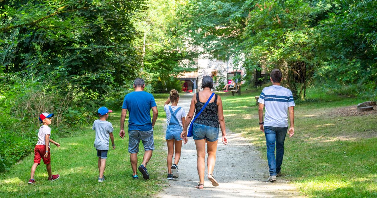 Image : En Famille - Maison de la Rivière - Terres de Montaigu
